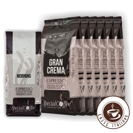 specialcoffee 6kg gran crema plus morning gratis