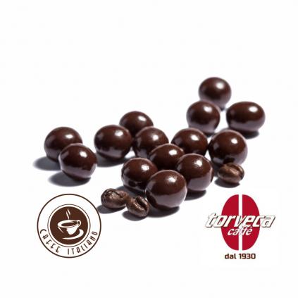 Torveca kávové zrno v čokoláde porciované