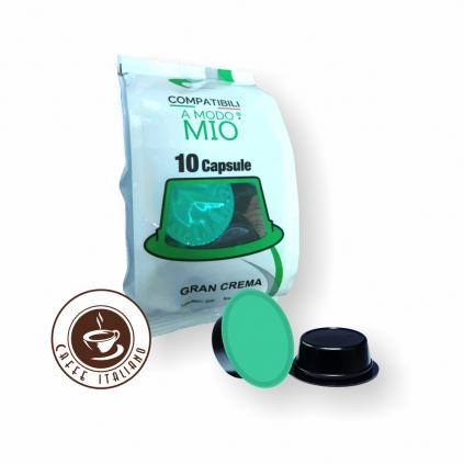 NeroPuro Gran Crema  Lavazza® A Modo Mio® 10ks