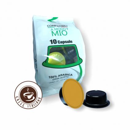 NeroPuro Arabica Lavazza® A ModoMio®10ks