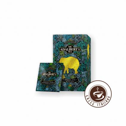 Sir Adalbert's Green Tea Marocan Mint porciovaný čaj 25 ks