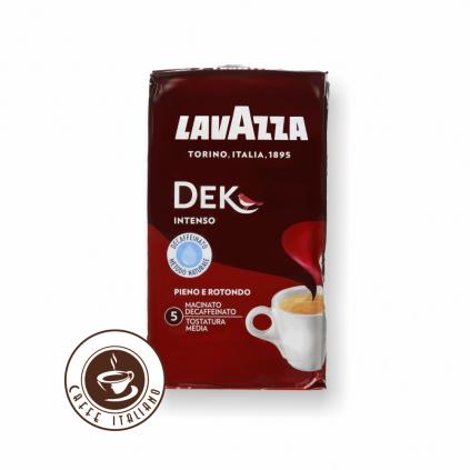 Lavazza Dek Intenso bezkofeínová 250g mletá káva