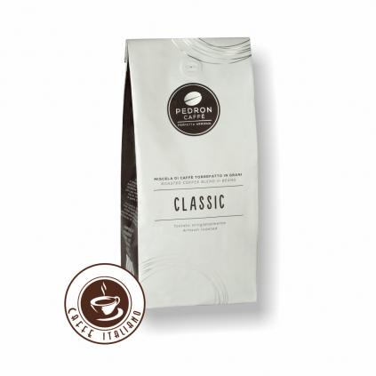 pedron caffe classic zrnkova kava 1kg 85arabica 15robusta logo caffeitaliano