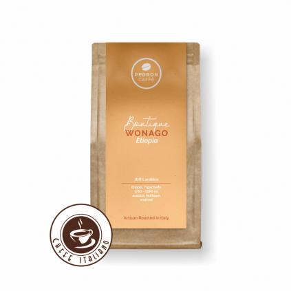 Pedron ETHIOPIA WONAGO zrnková káva 250g