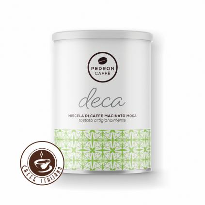 Pedron DECA bezkofeínová mletá káva 250g