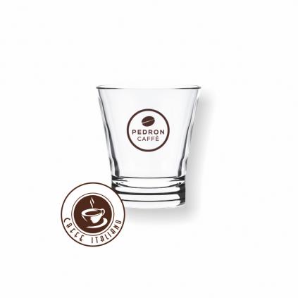 Pedron sklenený pohár 70ml