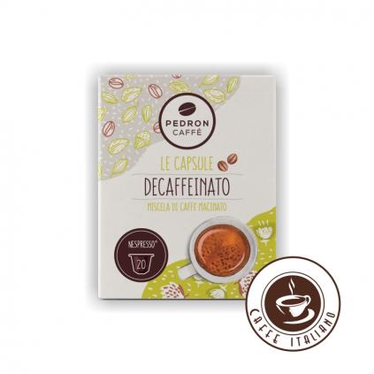 pedron kapsule decaffeinato nespresso