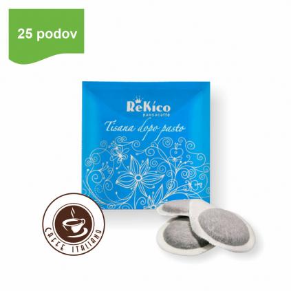 ReKico TISANA DOPO PASTO bylinný čaj e.s.e. pod 25 ks