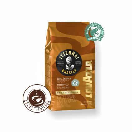 Lavazza Tierra Brasile Blend Arabica 1kg zrnková káva