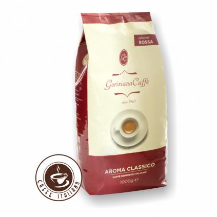 Goriziana Red Rossa Aroma zrnková káva 1kg