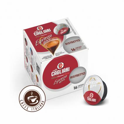 Cagliari Espresso Ristretto Lavazza® A Modo Mio® 16ks