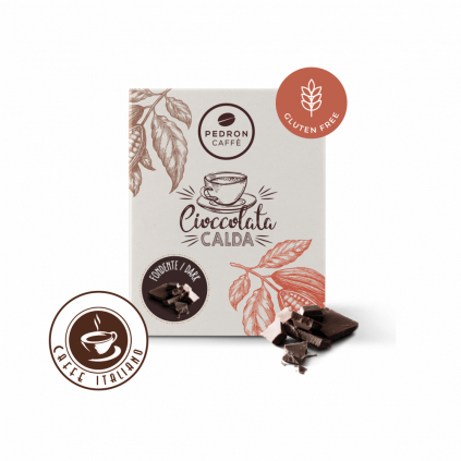 Horúca čokoláda Pedron - Tmavá čokoláda, 20x30g porciovaná