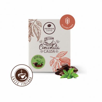 Horúca čokoláda Pedron - Čokoláda a mäta, 20x30g porciovaná