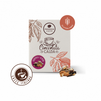 Horúca čokoláda Pedron - Mandľa, 20x30g porciovaná