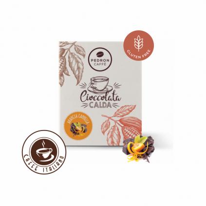 Horúca čokoláda Pedron - Pomaranč, 20x30g porciovaná