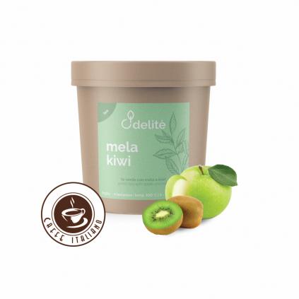 pedron caffe zeleny sypany caj jablko kiwi 100g logo caffeitaliano