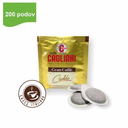 Cagliari Gran Caffe E.S.E.pody 200ks