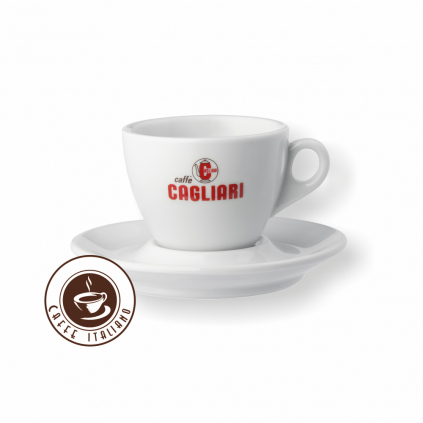 Cagliari šálka cappuccino 160ml