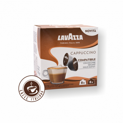 Lavazza Cappuccino Dolce Gusto 16 kapsúl