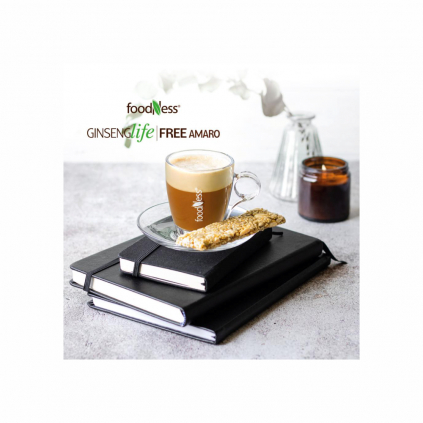 ženšen amaro dolce gusto 10ks foodness zdravý teplý nápoj caffeitaliano