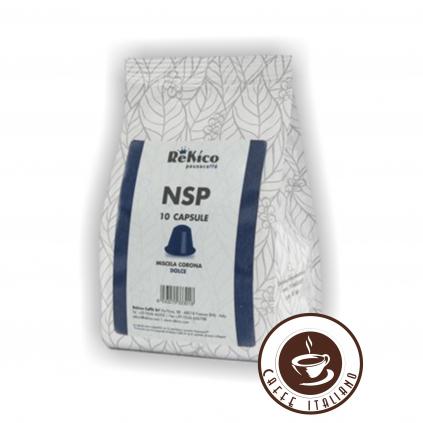 ReKico Corona Nespresso kapsule 10ks  90% Arabica + 10% Robusta