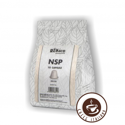 ReKico Orzo(jačmeň) Nespresso kapsule 10ks  záruka do 21.01.2021