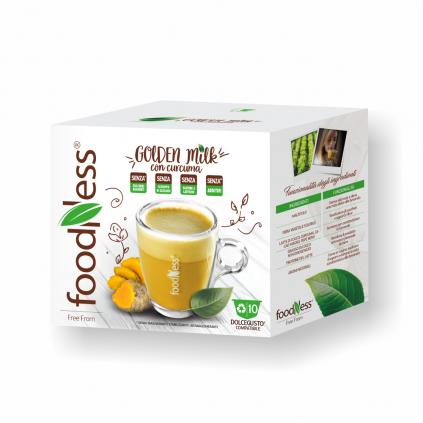 zlaté mlieko dolce gusto 10ks foodness zdravý teplý nápoj caffeitaliano