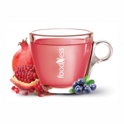 čaj granatové jablko dolce gusto 10ks foodness zdravý teplý nápoj caffeitaliano