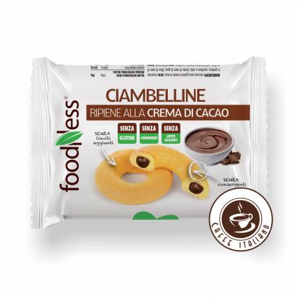 Sušienky plnené kakaovým krémom 30g