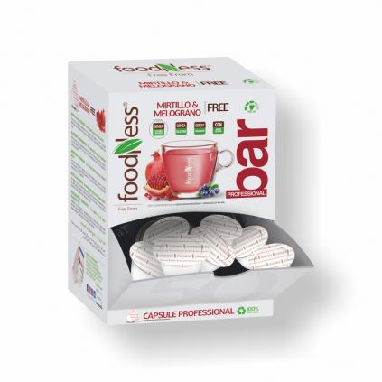 čaj granatové jablko dolce gusto 50ks foodness zdravý teplý nápoj caffeitaliano