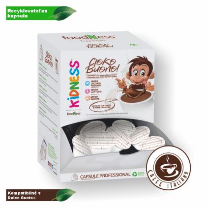 Čokoládové latte pre deti 50 kapsúl/16g