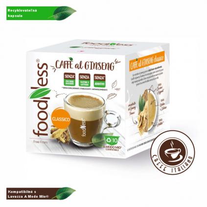 Ženšen káva CLASSIC Lavazza® A Modo Mio® 10 kapsúl/7g