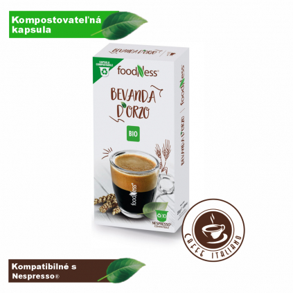 foodness jacmen nespresso 10kapsul logo caffeitaliano