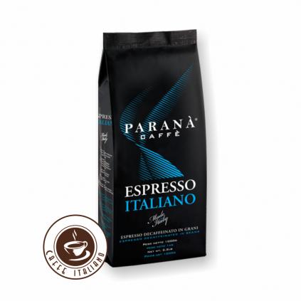 Paraná Espresso Italiano 1kg bezkofeínová