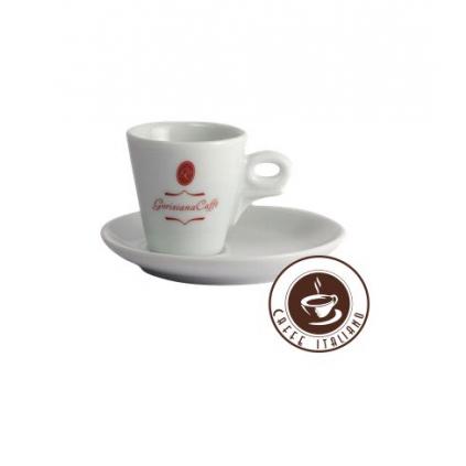 Goriziana Espresso šálka Giotto s podšálkou