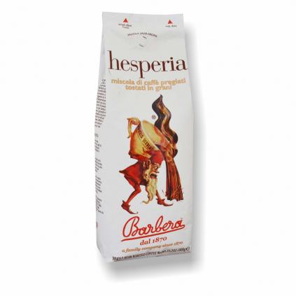 Barbera Hesperia 1kg zrnková káva  40% Arabica + 60% Robusta