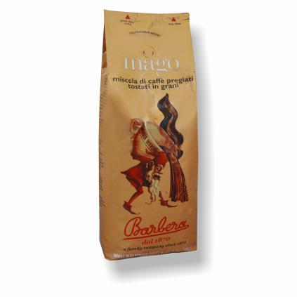 Barbera Mago 1kg zrnková káva  70% Arabica + 30% Robusta