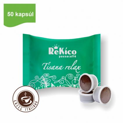 Rekico bylinná čajová zmes v point kapsulách 50ks