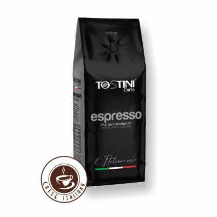 Zrnková káva Tostini Miscela Espresso 1kg