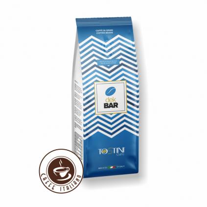 Zrnková káva Tostini Decaf Blend 500g