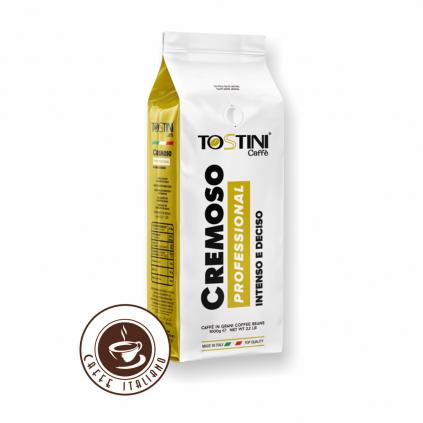 Zrnková káva Tostini Miscela Cremoso 1kg