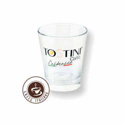 Tostini pohár sklo 80ml