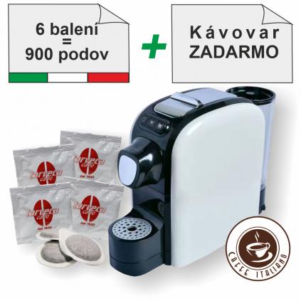 Torveca BLEND E.S.E. pody 900ks + kávovar