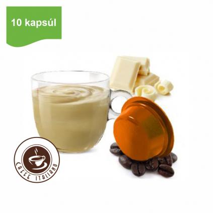 Kapsule Lavazza® A Modo Mio® Bonini Biela čokoláda 10 ks