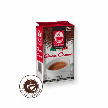 Mletá káva Bonini Gran Crema 250g