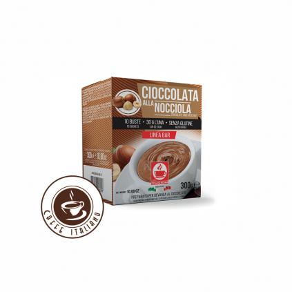 Horúca čokoláda Bonini Lieskový orech 30g/10ks