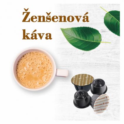 Foodness zdravé nápoje - Ženšenová káva