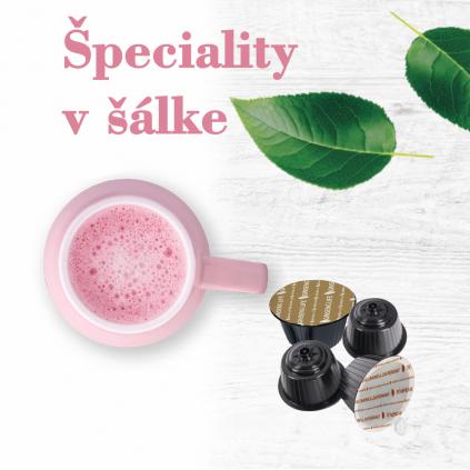 Foodness zdravé nápoje - Špeciality v šálke