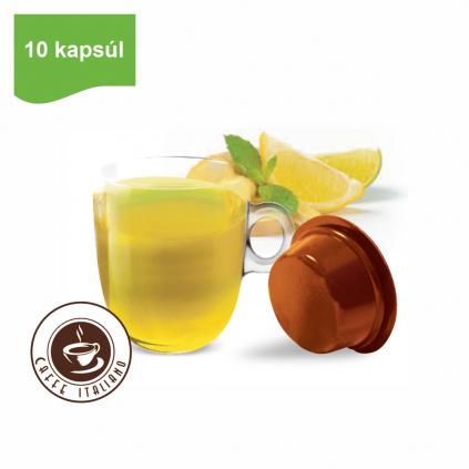 Kapsule Lavazza® A Modo Mio® Bonini Bylinkový čaj so zázvorom a citrónom 10ks