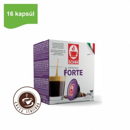 Kapsule Lavazza® A Modo Mio® Bonini Forte 16ks